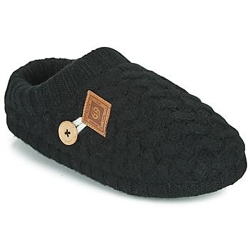 Topánky Ženy Papuče Dockers by Gerli 39HO302-100 Čierna
