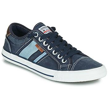 Topánky Muži Nízke tenisky Dockers by Gerli 42JZ004-670 Modrá
