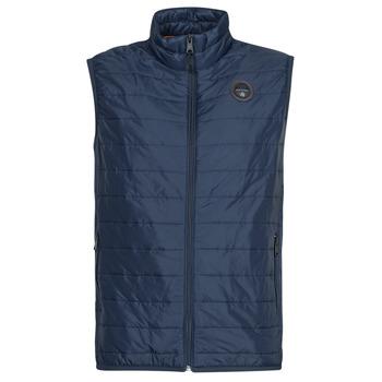 Oblečenie Muži Vyteplené bundy Napapijri ACALMAR VEST Námornícka modrá