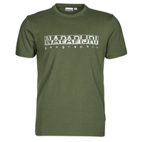 Oblečenie Muži Tričká s krátkym rukávom Napapijri SALLAR SS Zelená