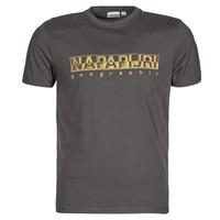 Oblečenie Muži Tričká s krátkym rukávom Napapijri SALLAR SS Šedá