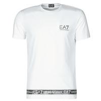 Oblečenie Muži Tričká s krátkym rukávom Emporio Armani EA7 3KPT05-PJ03Z-1100 Biela
