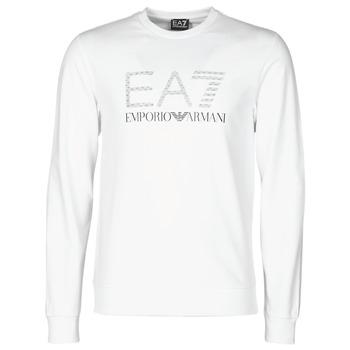 Oblečenie Muži Mikiny Emporio Armani EA7 3KPMD7-PJ2SZ-1100 Biela