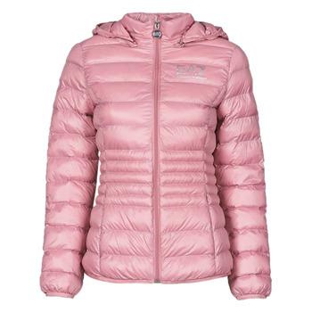 Oblečenie Ženy Vyteplené bundy Emporio Armani EA7 8NTB23-TN12Z-1436 Ružová