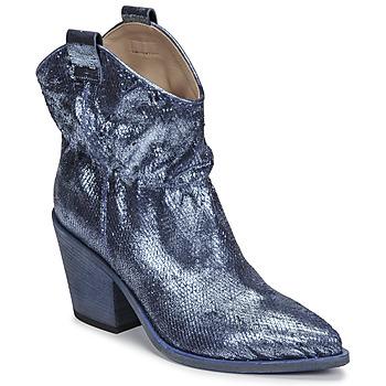 Topánky Ženy Čižmičky Fru.it 6901-376-BLUE Modrá