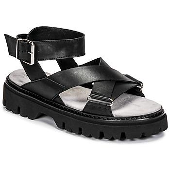 Topánky Ženy Sandále Fru.it 6757-100-NERO Čierna