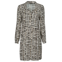 Oblečenie Ženy Krátke šaty One Step RANDA Béžová / Čierna