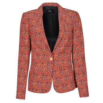 Oblečenie Ženy Saká a blejzre One Step VINNY Červená / Viacfarebná