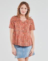 Oblečenie Ženy Blúzky One Step CARA Červená / Viacfarebná