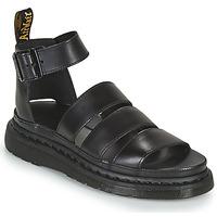 Topánky Ženy Sandále Dr Martens CLARISSA II Čierna