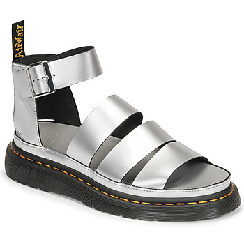 Topánky Ženy Sandále Dr Martens CLARISSA II Strieborná