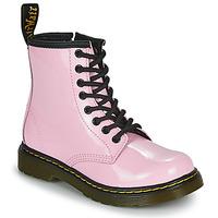 Topánky Dievčatá Polokozačky Dr Martens 1460 J Ružová