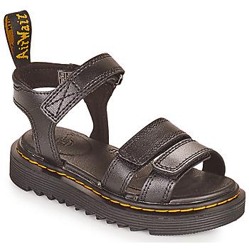 Topánky Dievčatá Sandále Dr Martens KLAIRE J Čierna