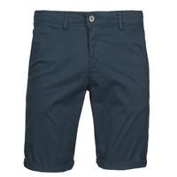 Oblečenie Muži Šortky a bermudy Teddy Smith SHORT CHINO Námornícka modrá
