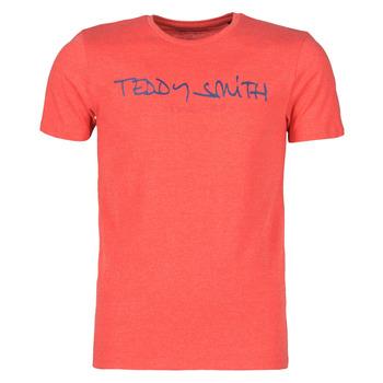Oblečenie Muži Tričká s krátkym rukávom Teddy Smith TICLASS Červená