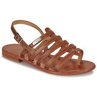 Topánky Ženy Sandále Les Tropéziennes par M Belarbi HERISSON Svetlá hnedá