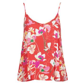 Oblečenie Ženy Blúzky Rip Curl SUGAR BLOOM SINGLET Červená