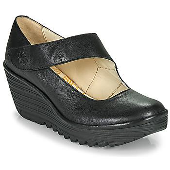 Topánky Ženy Lodičky Fly London YASI Čierna