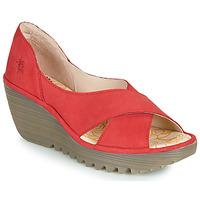 Topánky Ženy Sandále Fly London YOMA Červená