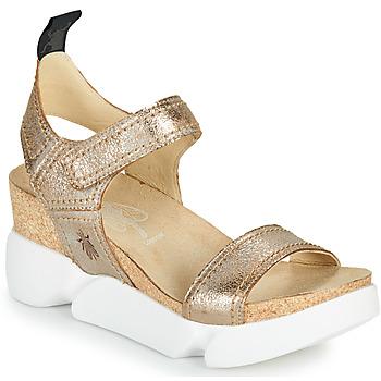 Topánky Ženy Sandále Fly London SENA Zlatá
