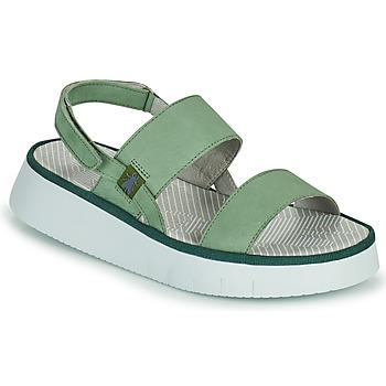 Topánky Ženy Sandále Fly London CURA Zelená