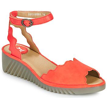 Topánky Ženy Sandále Fly London LUME Červená