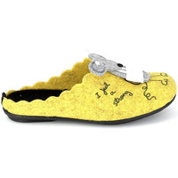Topánky Papuče La Maison De L'espadrille Mule Souris Jaune Žltá