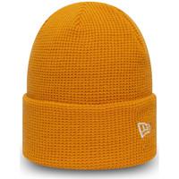 Textilné doplnky Muži Čiapky New-Era Ne colour waffle knit Oranžová