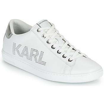 Topánky Ženy Nízke tenisky Karl Lagerfeld KUPSOLE II KARL PUNKT LOGO LO Biela