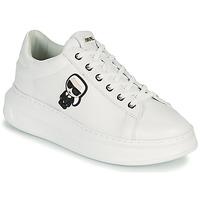 Topánky Ženy Nízke tenisky Karl Lagerfeld KAPRI KARL IKONIC LO LACE Biela