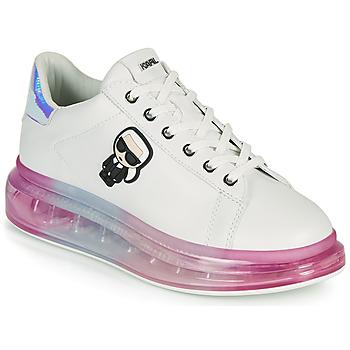 Topánky Ženy Nízke tenisky Karl Lagerfeld KAPRI KUSHION KARL IKONIC LO LACE Biela / Viacfarebná