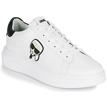 Topánky Muži Nízke tenisky Karl Lagerfeld KAPRI MENS KARL IKONIC 3D LACE Biela