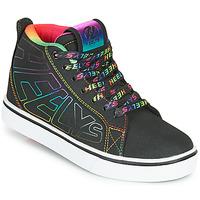 Topánky Dievčatá Kolieskové topánky Heelys RACER 20 MID Čierna / Viacfarebná
