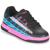 Topánky Dievčatá Kolieskové topánky Heelys SPLINT Čierna / Viacfarebná
