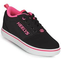 Topánky Dievčatá Kolieskové topánky Heelys PRO 20'S Čierna / Ružová