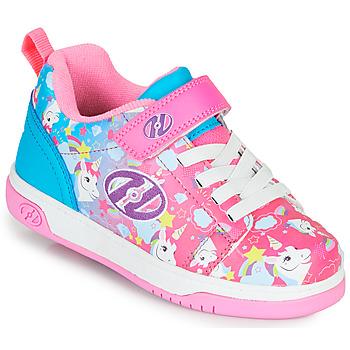 Topánky Dievčatá Kolieskové topánky Heelys DUAL UP X2 Ružová / Modrá