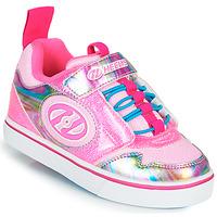 Topánky Dievčatá Kolieskové topánky Heelys ROCKET X2 Ružová