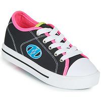 Topánky Dievčatá Kolieskové topánky Heelys CLASSIC X2 Čierna / Ružová / Modrá