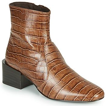 Topánky Ženy Čižmičky Jonak BABOU Hnedá