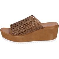 Topánky Ženy Sandále Femme Plus BK620 Hnedá