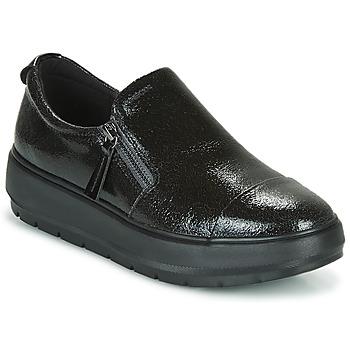 Topánky Ženy Nízke tenisky Geox D KAULA Čierna