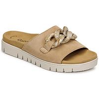 Topánky Ženy Šľapky Gabor 6374314 Karamelová