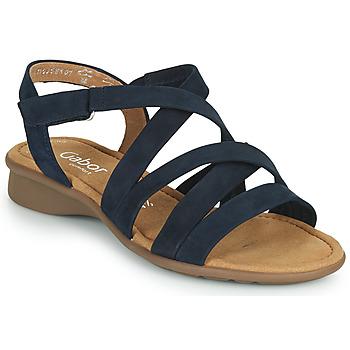 Topánky Ženy Sandále Gabor 6606636 Modrá