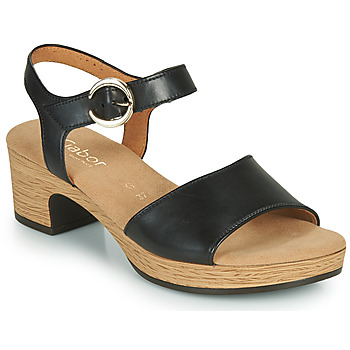 Topánky Ženy Sandále Gabor 6272157 Čierna