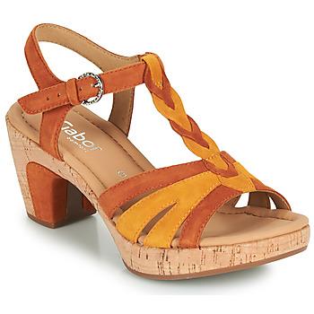 Topánky Ženy Sandále Gabor 6273442 Koňaková