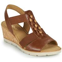 Topánky Ženy Sandále Gabor 6575024 Hnedá