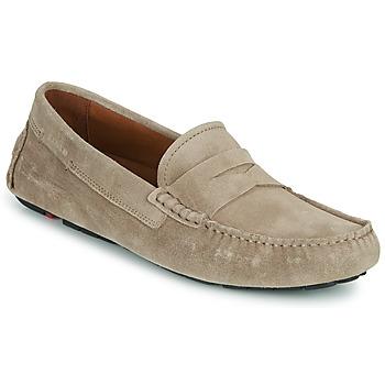 Topánky Muži Mokasíny Lloyd EMIDIO Béžová