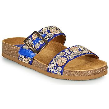 Topánky Ženy Šľapky Desigual ARIES EXOTIC Modrá