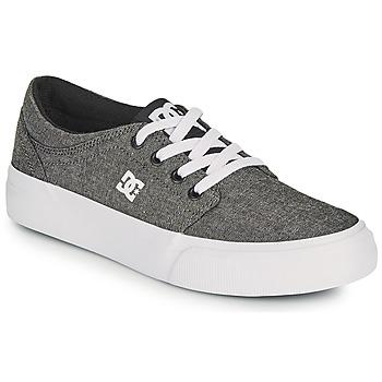 Topánky Chlapci Skate obuv DC Shoes TRASE B SHOE XSKS Šedá