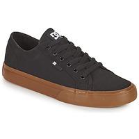 Topánky Muži Skate obuv DC Shoes MANUAL Čierna / Gum